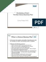 New Venture Business Plan