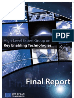 High-Level Expert Group on Key Enabling Technologies -Final Report