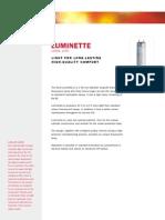 Luminette Data Sheet
