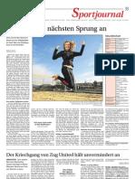 Zeitungsbericht Nina Betschart