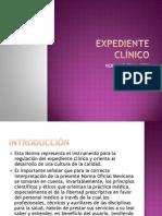 Fundamentos de Ingeniería Biomédica - Expediente Clínico
