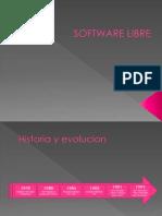Software Libre Historia y Evolucion