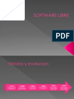 Software Libre Historia y Evolucion