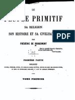 Le Peuple primitif 1