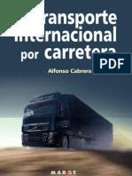 Cap Gratuito El Transporte Internacional Por Carretera Alfonso Cabrera Logisnet
