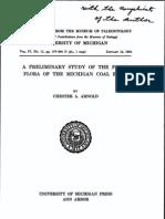 ID043-Arnold-prelim Stdy Fossil Flora of Mich Coal Basin-1934