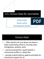 U.S. Census Data for Journalists