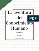 La Aventura Del Conocimiento Humano