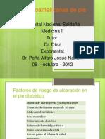Guías latinoamericanas de pie diabético