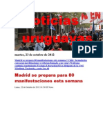 Noticias Uruguayas Martes 23 de Octubre Del 2012-2