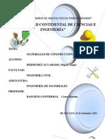 MATERIALES DE CONSTRUCCIÓN DEL FUTURO