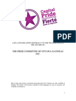 Capital Pride by-Laws Draft Changes September 2012