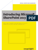 Introducing Microsoft SharePoint 2013