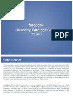 FB Q3 Investor Deck