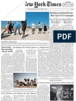 TheNewYorkTimes Monday October 22 2012