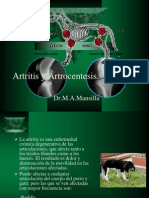 Artritis y Artrocentesis. Mansilla