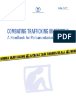 Combating Trafficking in Persons - Handbook for Parliamentarians