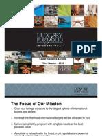 LuxuryPortfolio Latest Statistics