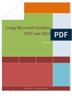 550 - Get Organized With OneNote 2007-2010