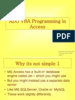 VBA Programming in Access