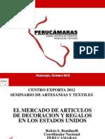 Mercados de Artículos de decoración en EE. UU. - Ruben Rondinelli Centro Exporta