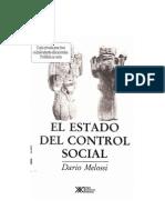 Melossi El Estado Del Control Social.pdf