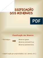 Area1- Classificacao Dos Minerais