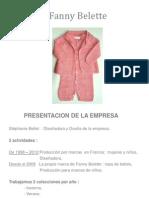 Mercado de Confecciones en Francia - Stephanie Belette