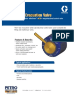 PETRO GRACO 4 WAY Evacuation Valve Brochure