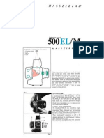 Hasselblad 500 EL/M operation manual