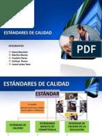 GRUPO 6 ESTÁNDARES DE CALIDAD MÓDULO III