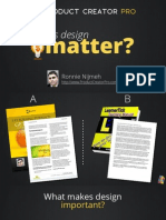 Does Design Matter?
