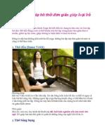 6 phương pháp hít thở đơn giản giúp loại bỏ stress