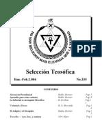 Selección Teosófica - Ene 2004