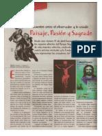 Paisaje Pasión y Sagrado II Colectiva Grupo Artemusa