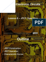 Small Signal Amplifiers - Lesson 8 - JFET Operation