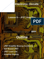 Small Signal Amplifiers - Lesson 9 - JFET Amplifier Biasing