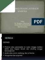 Lapsus Hernia Inguinalis Lateralis