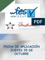 PRUEBAS SABER-DIFUSIÓN