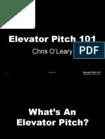 Elevator Pitch, O´Leary