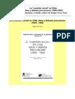 Grez Toso Sergio - La Cuestion Social en Chile Ideas Y Debates Precursores (1804 - 1902)