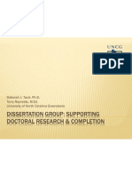 Dissertation Group