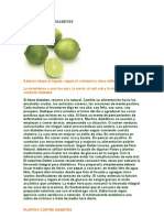 Limon Contra Diabetes
