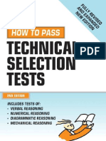 How to Pass Technical Selection Tests