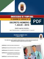 Decreto Doc Servicio
