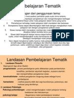 Pembelajaran Tematik