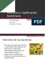 Nutricion y Clasificacion Bacteriana (1)