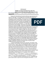 Pengaruh Herbisida Pada Gulma Dan Pertumbuhan Vegetatif Tanaman Tebu (Ringkasan)