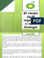 BP Holdings - BP vänder sig till regeringen i ryska företaget