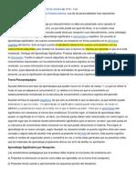 Teorias Ausubel, Piaget, Wallon y Piaget